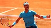 Niềm vui chiến thắng hoang dại của Rafael Nadal