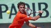 Robin Haase trong màu áo da cam của tuyển Hà Lan ở Davis Cup