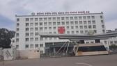 Bệnh viện HNĐK Nghệ An nơi xảy ra vụ việc