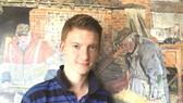 """""""小莫奈""""8歲靠賣畫買房。(圖片來源:互聯網)"""