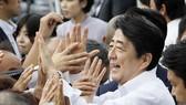 日本首相安倍晉三。