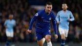 Eden Hazard trong trận thắng MC 2-0 ở lượt đi