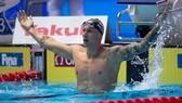 Niềm vui chiến thắng của Caeleb Dressel