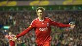 Torres khi còn tung hoành trong màu áo Liverpool