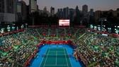 Một trận đấu ở Hong Kong Open