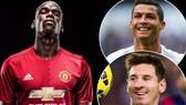 Paul Pogba sẽ chọn đội của Ronaldo hay Messi.