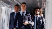 Cristiano Ronaldo và các đồng đội đã đặt chân đến Turin