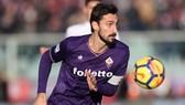 Hậu vệ Fiorentina Davide Astori.