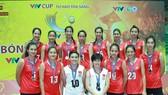ĐTQG nữ Việt Nam quyết đổi mầu huy chương so với năm trước. Nguồn: tư liệu