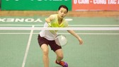 tay vợt Nguyễn Thùy Linh được chờ đợi sẽ vào chung kết nội dung đơn nữ. Ảnh: DŨNG PHƯƠNG