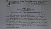 """7 """"lò"""" đào tạo được bằng khen của Bộ VH-TT-DL. Nguồn: TCTDTT"""