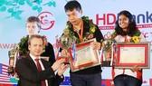 Siêu Đại kiện tướng Wang Hao đăng quang giải cờ Vua quốc tế 2019. Ảnh: Nhật Anh