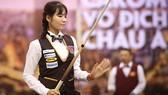 Với 20 danh hiệu quốc tế trong sự nghiệp, Srong Pheavy sẽ khiến Giải vô địch billiards carom châu Á 2019 càng thêm hấp dẫn. Ảnh: Dũng Phương