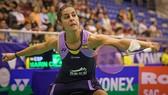 tay vợt Carolina María (Tây Ban Nha) tại giải Việt Nam Open 2019: Ảnh: Dũng Phương