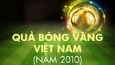 Những chặng đường lịch sử: Giải thưởng năm 2010