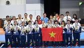 Đội tuyển nữ futsal Việt Nam. Ảnh: ANH TRẦN