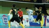Đội tuyển futsal đã có thế trận lấn lướt trước Malaysia. Ảnh: ĐỘC LẬP