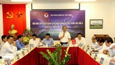 Hội nghị BCH VFF mới đây diễn ra tại Hà Nội. Ảnh: Anh Trần