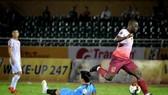 Trận thắng 3-0 của CLB Sài Gòn ở lượt đi. Ảnh: Đức Duy