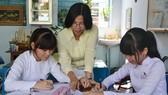 Cô giáo Nguyễn Thị Tuyết, Trường THCS Lê Ngọc Hân, TP Mỹ Tho: Dạy Văn là dạy người