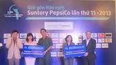 Giải Gôn Hữu nghị Suntory Pepsico đóng góp từ thiện 1,7 tỷ đồng