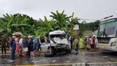 Vụ 2 xe khách đối đầu ở Kon Tum:  Đã có 4 người tử vong
