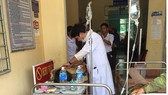 Nạn nhân vụ tai nạn đang được điều trị
