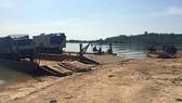 Một vụ bắt giữ gỗ trên sông Sê San đoạn qua xã Ia Tơi vào tháng 10-2018