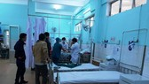Nạn nhân được cấp cứu tại bệnh viện