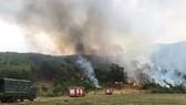 Tổ chức diễn tập phòng chống cháy rừng vào... mùa mưa
