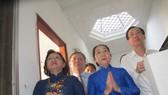 Đoàn lãnh đạo Thành ủy, HĐND, UBND, Ủy ban MTTQ Việt Nam TPHCM dâng hương tưởng niệm 110 năm ngày sinh đồng chí Phạm Văn Chiêu