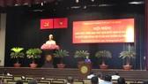 Phó Bí thư Thành ủy TPHCM Võ Thị Dung phát biểu chỉ đạo hội nghị