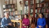 Lãnh đạo TPHCM thăm, chúc mừng Giáng sinh các vị trí thức, chức sắc công giáo