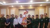 Đoàn lãnh đạo TPHCM chúc tết các đơn vị bộ đội đóng quân trên địa bàn