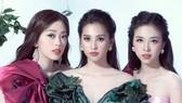 Tiểu Vy, Phương Nga, Thúy An hóa thân thành nữ thần nho trong bộ ảnh mới