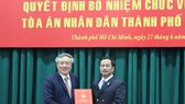 Bổ nhiệm ông Lê Thanh Phong làm Chánh án TAND TPHCM
