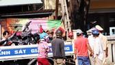 Hàng loạt phương tiện bị hư hỏng nặng sau vụ tai nạn
