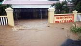 Lũ gây ngập diện rộng ở Phú Yên, nhiều công trình giao thông bị tàn phá nặng nề