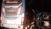 Tai nạn xe khách tại Bình Định làm 1 người chết, 13 người bị thương