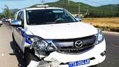 Xe của CSGT tỉnh Bình Định tông chết người trên QL19