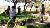 Bình Định: Hai nhóm hỗn chiến trong công viên, một người chết