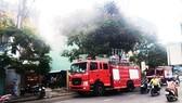 Cháy kho chứa hồ sơ của văn phòng đăng ký đất đai lúc rạng sáng