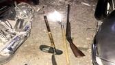 Ngăn chặn kịp thời hai băng nhóm mang súng săn, hung khí hẹn đánh nhau