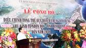 Chủ tịch UBND tỉnh Bình Định phát biểu tại lễ công bố