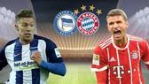 Hertha Berlin - Bayern Munich 2-2