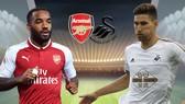 Arsenal - Swansea City 2-1: Pháo thủ ngược dòng thành công
