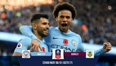 Man City - Burnley 4-1: Aguero 2 phút lập cú đúp, Man xanh ngược dòng đại thắng