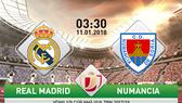Real Madrid - Numancia 2-2 (chung cuộc 5-2): Real dễ dàng tiến vào Tứ kết