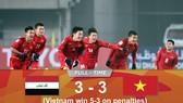 U23 Việt Nam - U23 Iraq 3-3 (luân lưu 5-3): Viết tiếp chuyện cổ tích