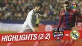 Levante - Real Madrid 2-2: CR7 tịt ngòi, Real mất điểm phút 89